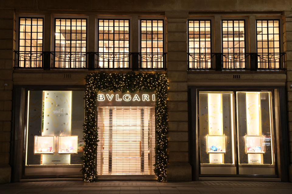 Bvlgari Shopfitting
