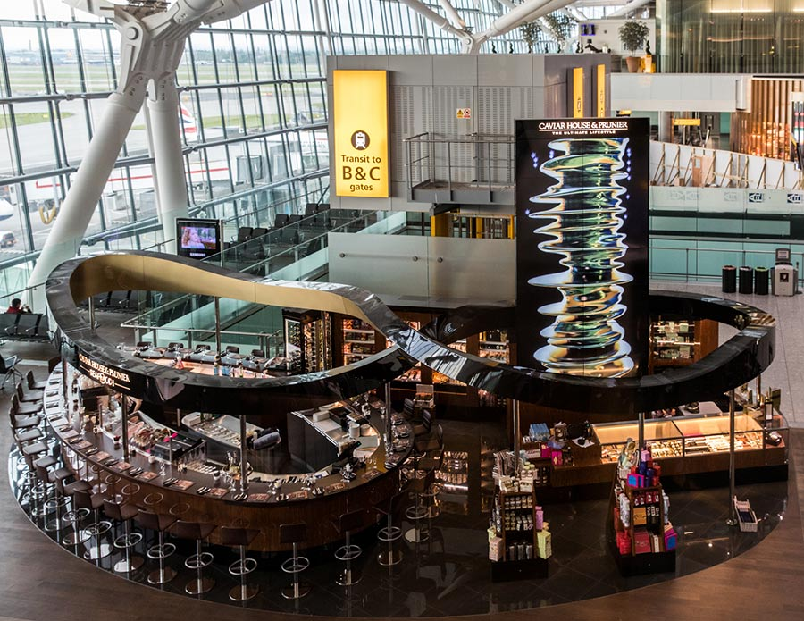 caviar house  u0026 prunier  london heathrow airport