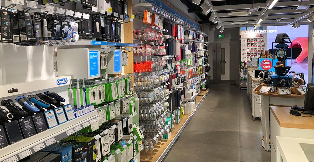 Dixons Carphone - P & A Shopfitting